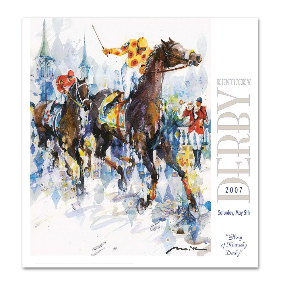 2007 Kentucky Derby Poster