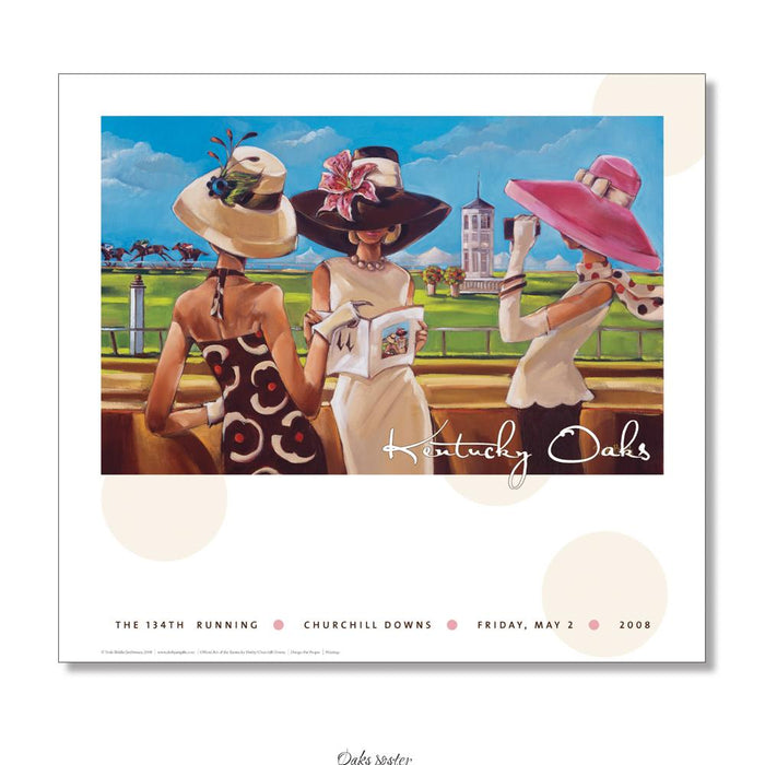 2008 Kentucky Oaks Poster