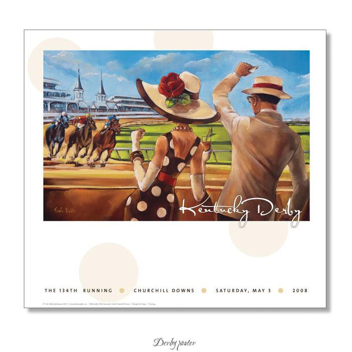 2008 Kentucky Derby Poster