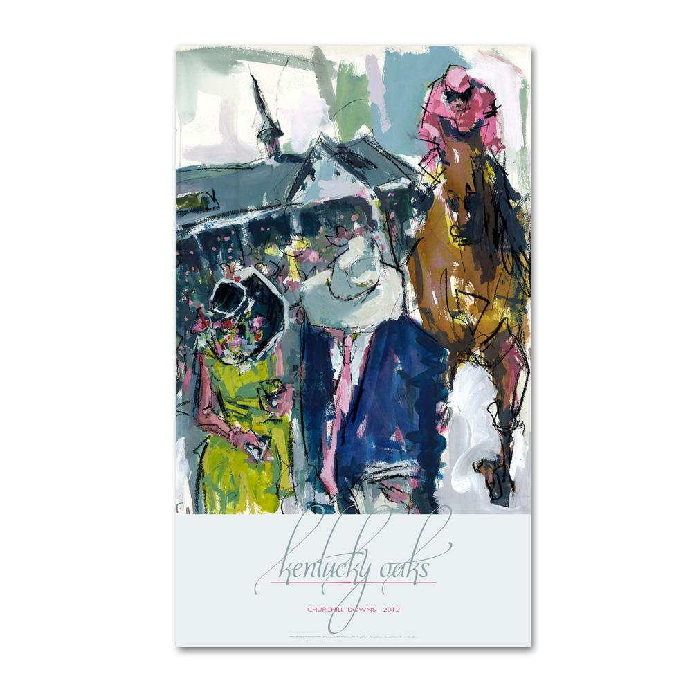 2012 Kentucky Oaks Poster