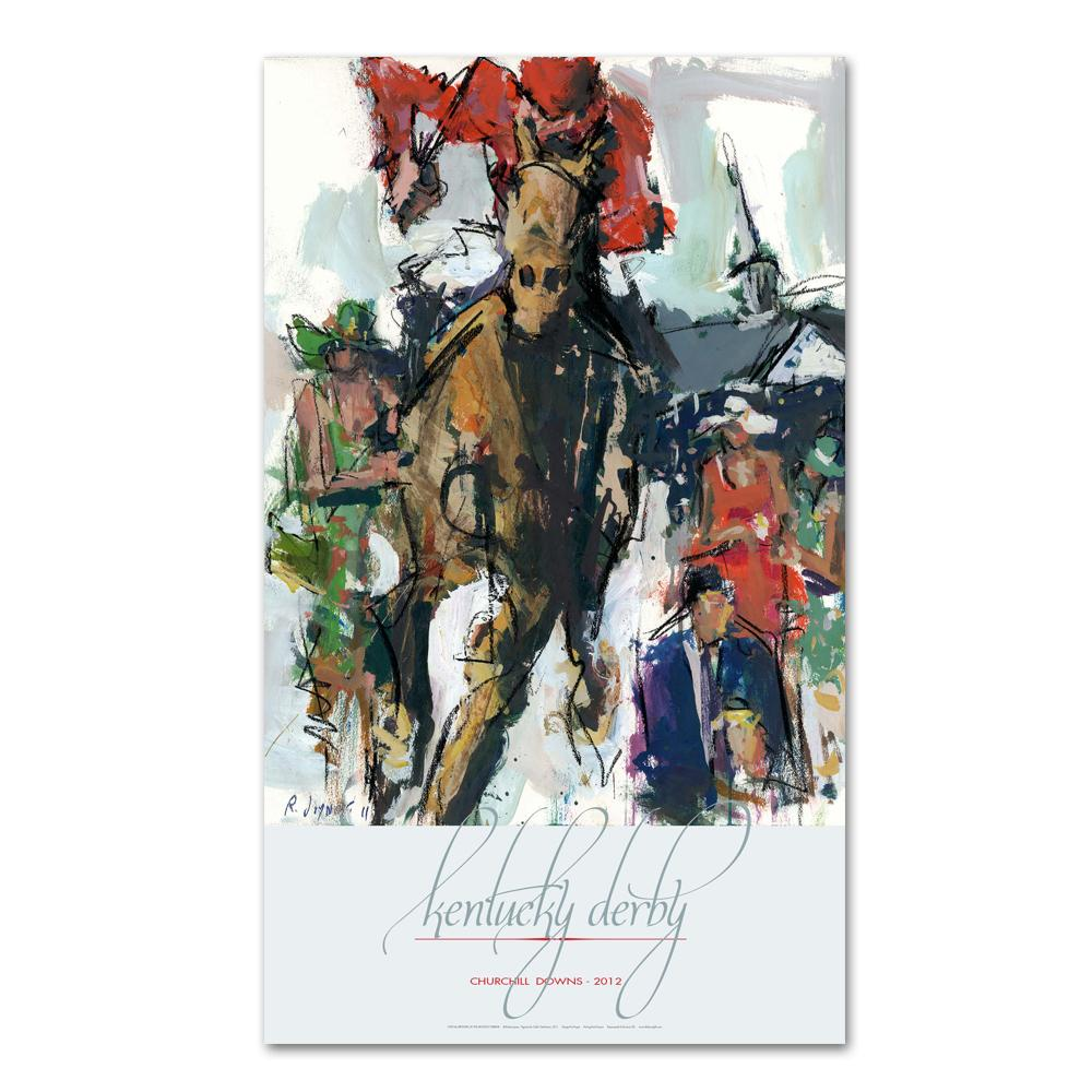 2012 Kentucky Derby Poster