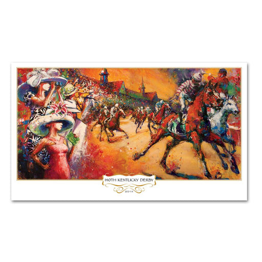 2014 Kentucky Derby Limited Edition Print