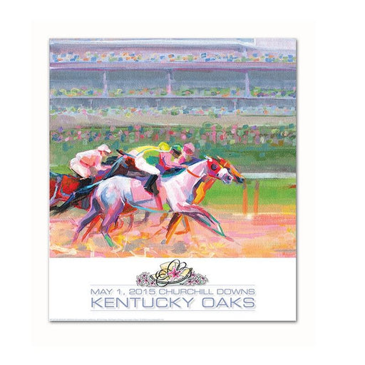 2015 Official Kentucky Oaks Poster