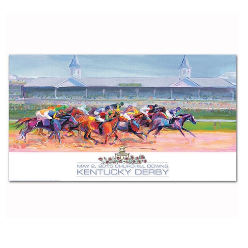 2015 Official Kentucky Derby Poster
