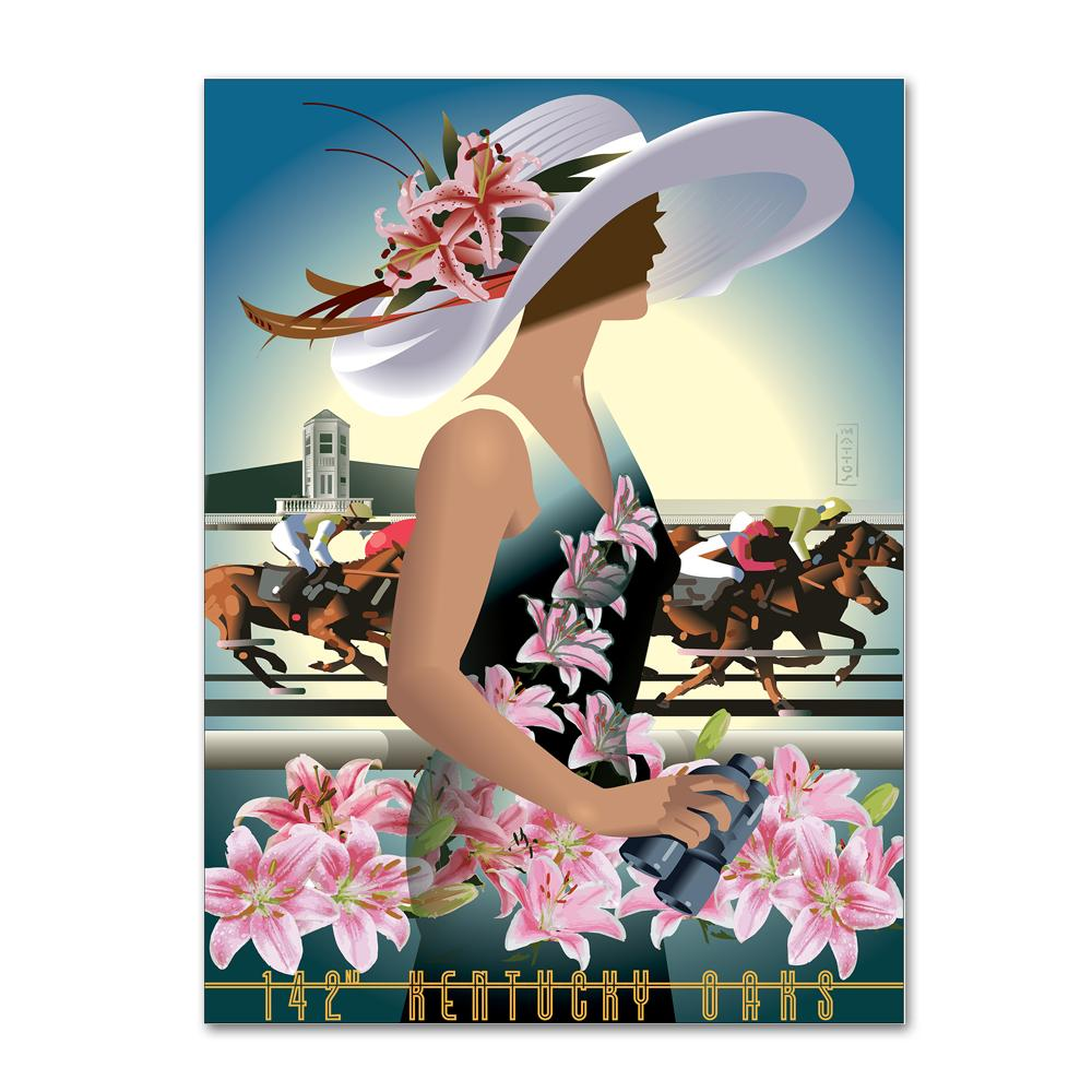 2016 Official Kentucky Oaks Poster
