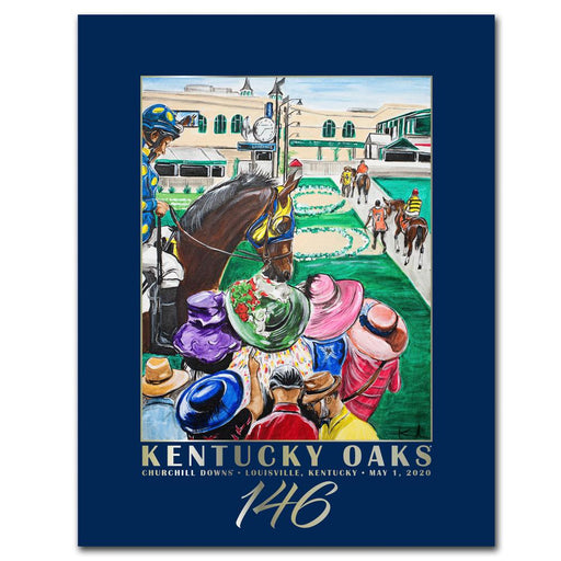 2020 Kentucky Oaks Poster