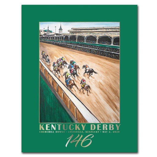 2020 Kentucky Derby Poster - 146th Kentucky Derby Art