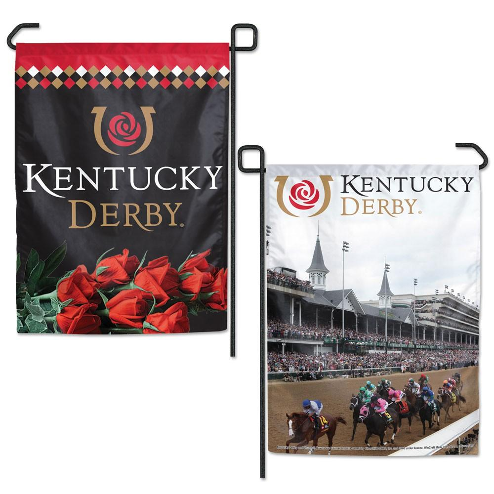 Kentucky Derby Garden Flag - Double Sided
