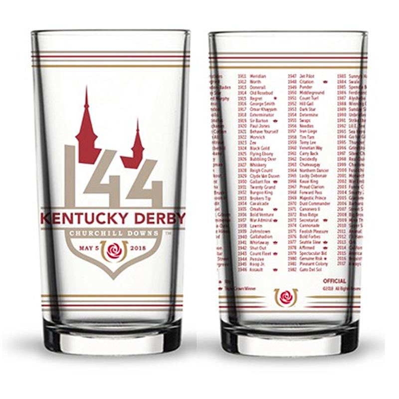 2018 Official 144th Kentucky Derby Mint Julep Glass