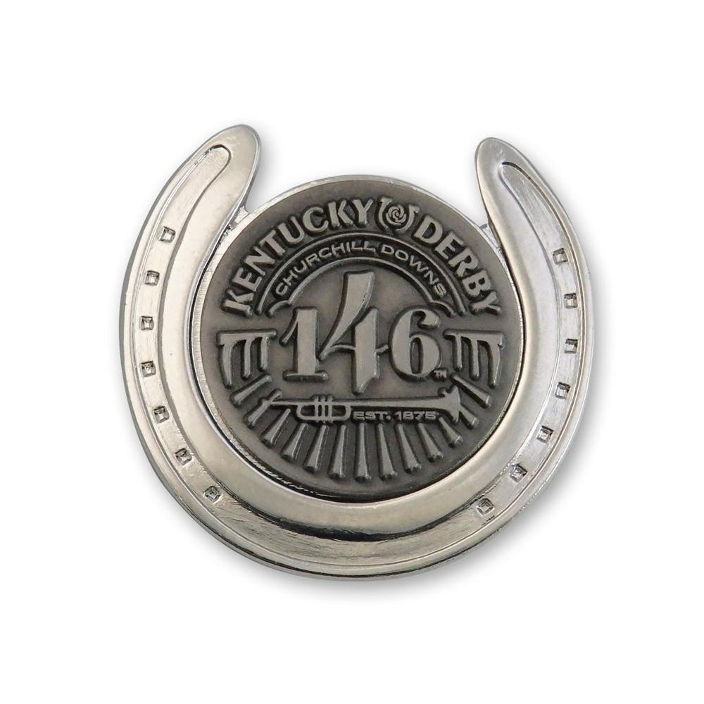 146th Kentucky Derby Horseshoe Lapel Pin