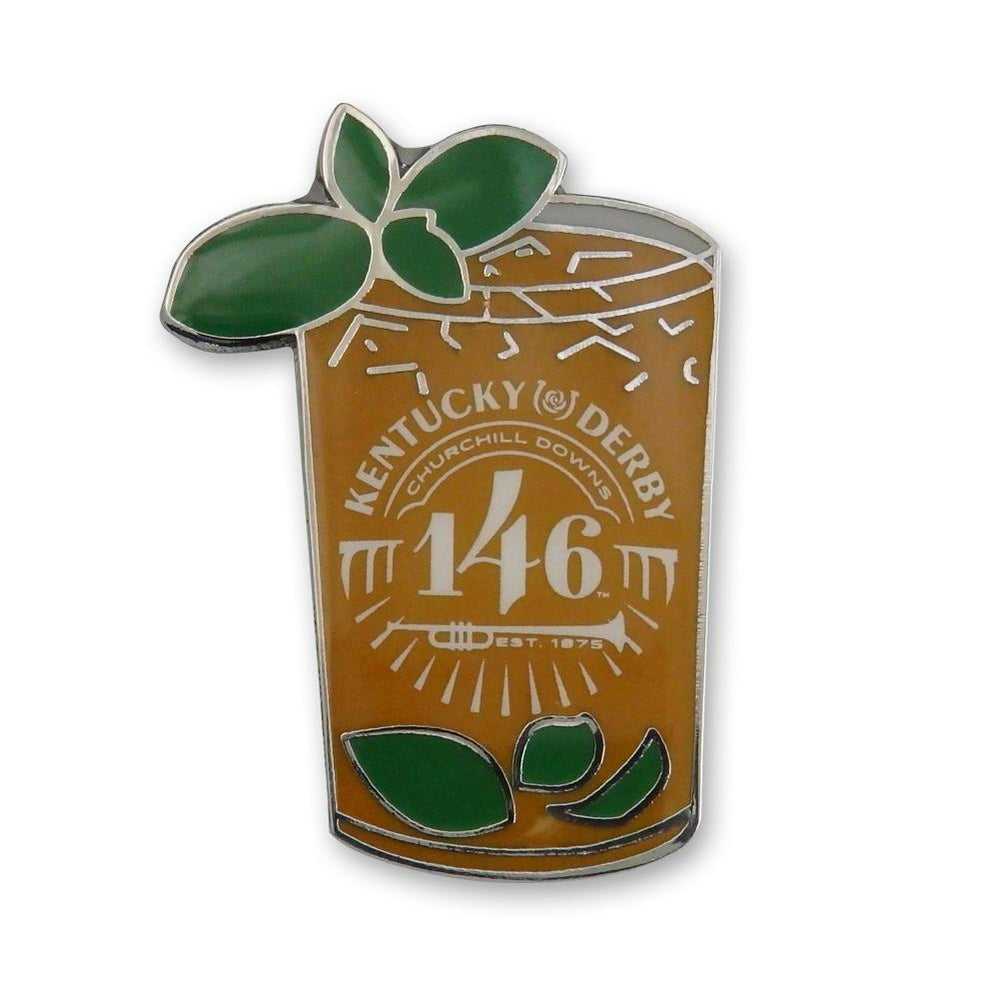 146th Kentucky Derby Lapel Pin - Mint Julep