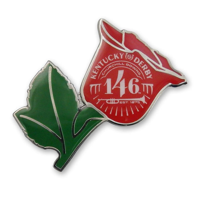146th Kentucky Derby Lapel Pin - Derby Rose