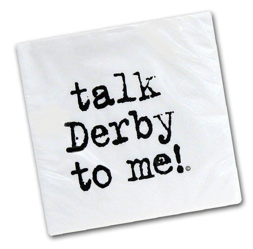 Talk Derby to Me! Paper Lunch Napkins - Pkg/25