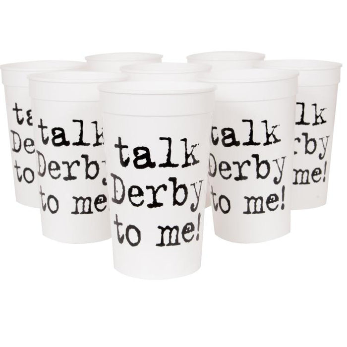 Talk Derby to Me ! 20 oz.Stadium Cups - Pkg/20