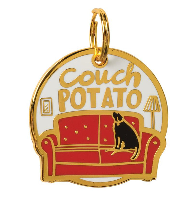 Dog Charm - Couch Potato