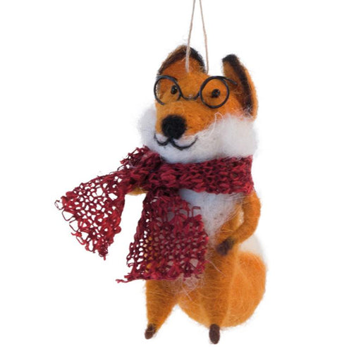 Joel the Fox Ornament