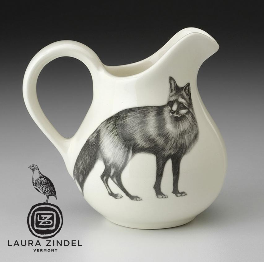 Standing Fox Creamer by Laura Zindel