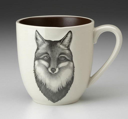 Fox Portrait Mug by Laura Zindel