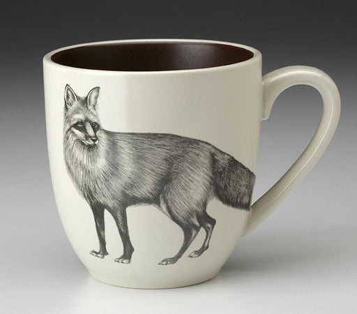 Standing Fox Mug by Laura Zindel