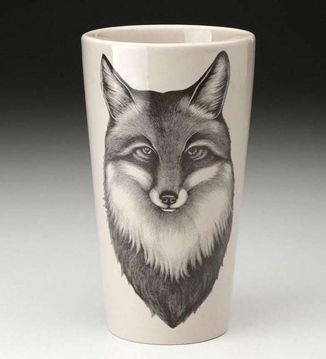 Fox Portrait Tumbler by Laura Zindel