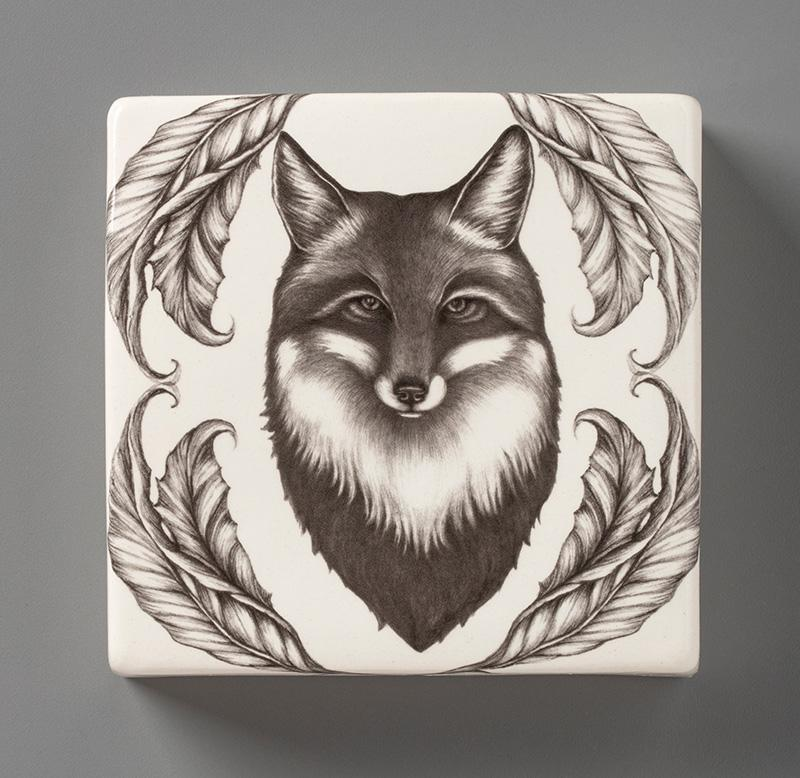 Fox Wall Box by Laura Zindel