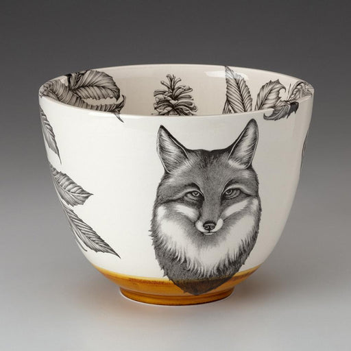 Fox Portrait Serving Bowl by Laura Zindel