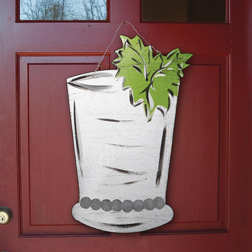 Mint Julep Door Decoration - Steel