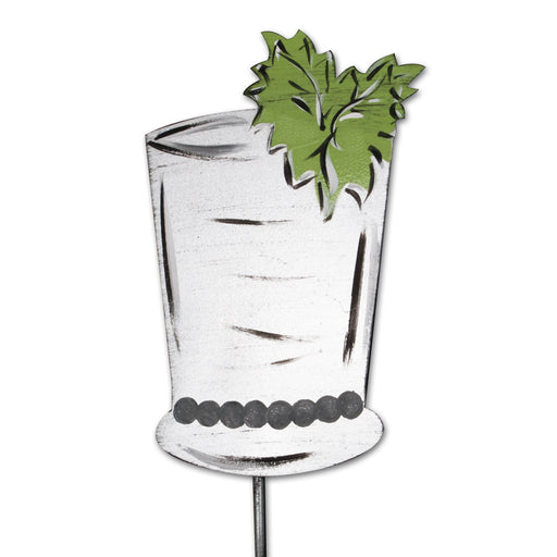 Mint Julep Garden Stake - Party Decoration