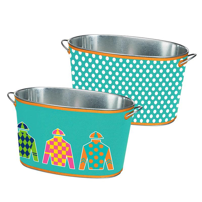 Racing Silks Party Tub - Blue