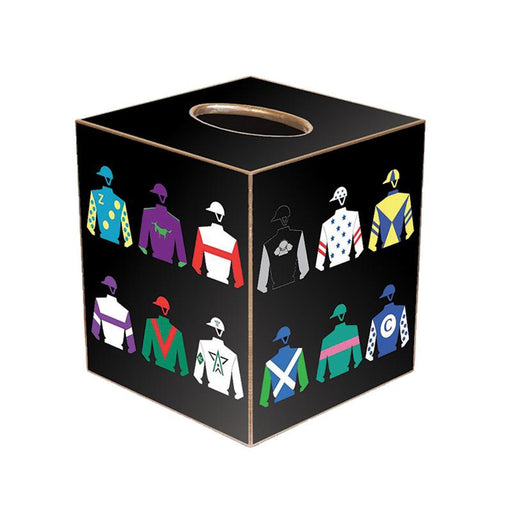 Racing Silks Tissue Box Cover