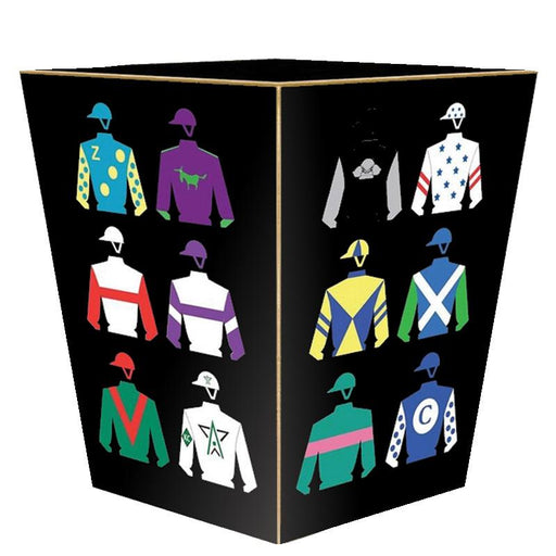 Racing Silks Waste Paper Basket