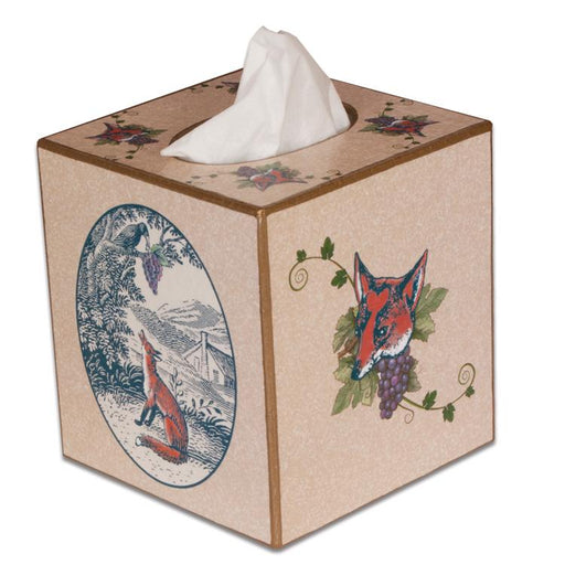 Fox Tissue Box Cover