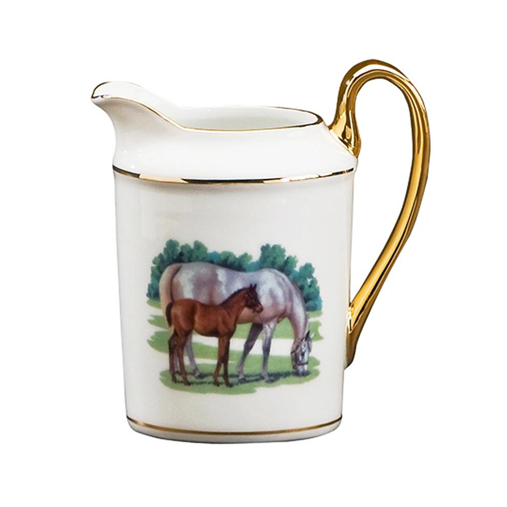 Bluegrass Creamer - Julie Wear Equestrian Tableware