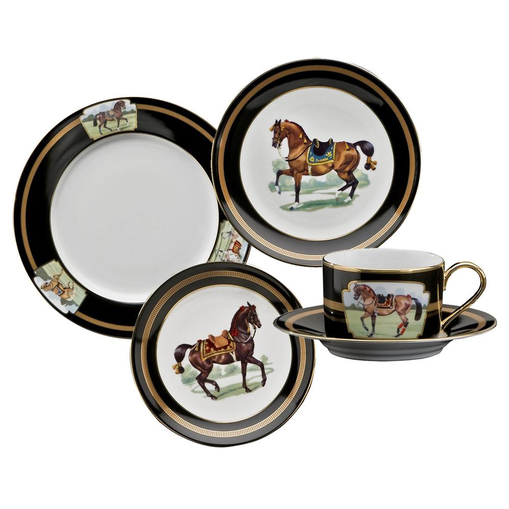 Imperial Horse 5-Piece Place Setting - Julie Wear Tableware