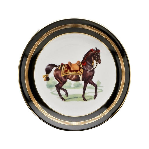 "Imperial Horse Bread Plate 6.5"" - Julie Wear Tableware"