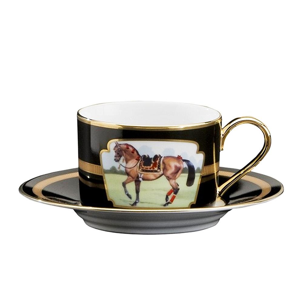 Imperial Horse Cup & Saucer - Julie Wear Tableware