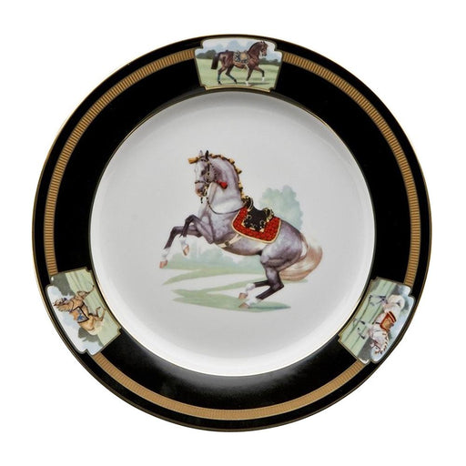 "Imperial Horse Dessert Plate 9"" - Julie Wear Tableware"
