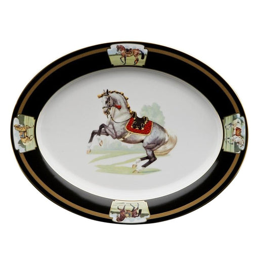 "Imperial Horse Platter 14.25"" - Julie Wear Tableware"