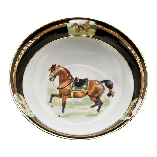 "Imperial Horse Serve Bowl 9"" - Julie Wear Tableware"