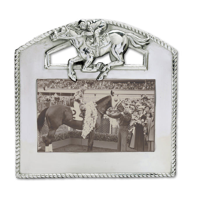 "Arthur Court Thoroughbred Photo Frame 4"" x 6"""
