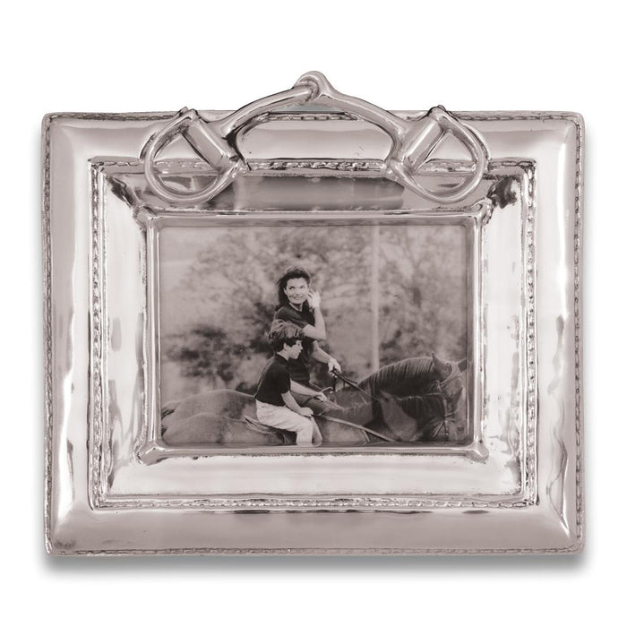Snaffle Bit Presentation Photo Frame by Beatrice Ball