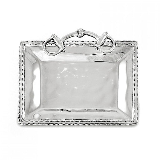 Snaffle Bit Equestrian Petit Tray by Beatrice Ball