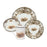 Aiken Hunt Dinnerware 4 Piece Settting - Fox