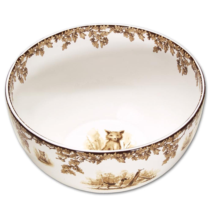 Aiken Hunt Dinnerware Centerpiece Bowl - Fox