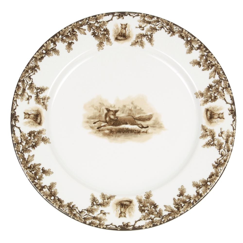 Aiken Hunt Dinnerware Charger - Fox