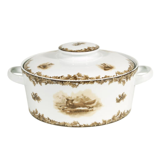 Aiken Hunt Dinnerware Covered Casserole -Fox