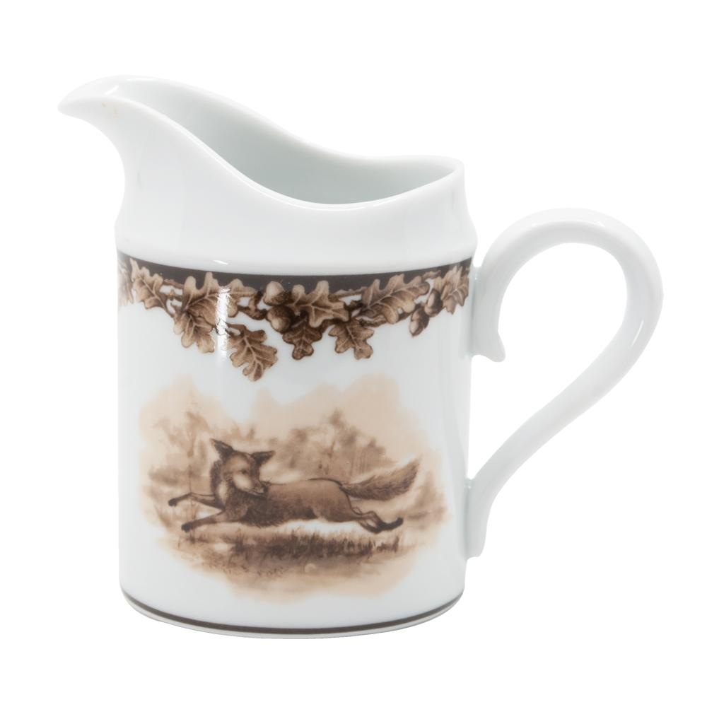 Aiken Hunt Dinnerware Creamer - Fox
