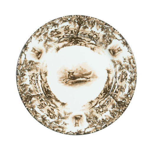 Aiken Hunt Dinnerware Dinner Plate - Fox