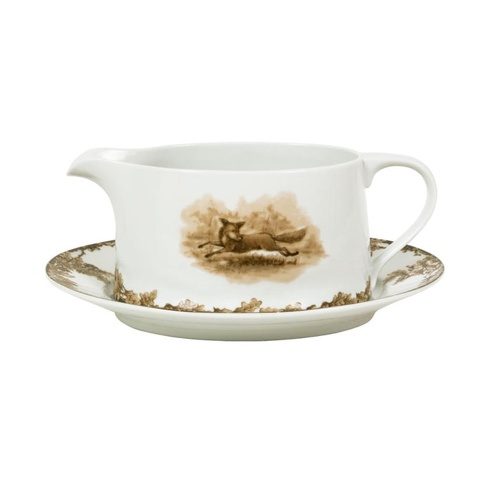 Aiken Hunt Dinnerware Gravy Boat - Fox