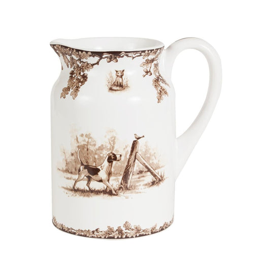 Aiken Hunt Dinnerware Pitcher- Hound